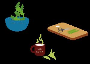 Consommer les plantes de votre Baromate en salade, en assaisonnement ou en infusion. Découvrez nos astuces recettes sur vos fiches pédagogiques ou dans nos Newsletters !