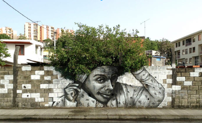 Green street art : art, nature et ville